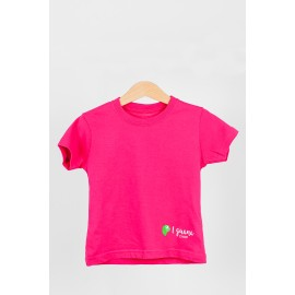 CAMISETA NIÑO ROSA DOBLE