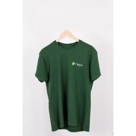 CAMISETA CHICO VERDE OSCURO DOBLE